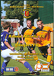 Official programme for Annan Athletic v Rangers 2nd January 2013