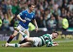 Andy Halliday tackles Patrick Roberts