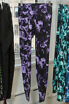 "Women's running pants from women's ""Active"" collection, displayed during the Old Navy Holiday 2015 fashion presentation."
