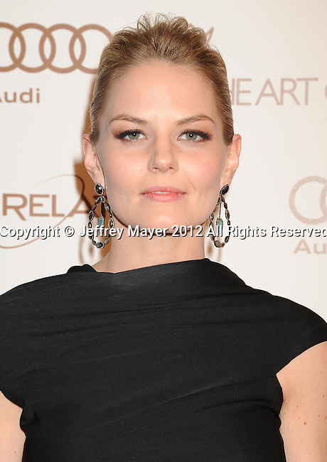 LOS ANGELES, CA - JANUARY 14: Jennifer Morrison arrives at Art Of Elysium's 5th Annual Heaven Gala at Union Station on January 14, 2012 in Los Angeles, California.