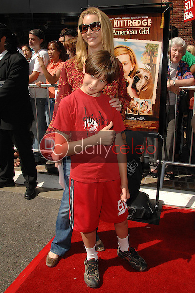 """Lisa Kudrow and son Julian<br />at the world premiere of """"Kit Kittredge: An American Girl"""". The Grove, Los Angeles, CA. 06-14-08<br />Dave Edwards/DailyCeleb.com 818-249-4998"""