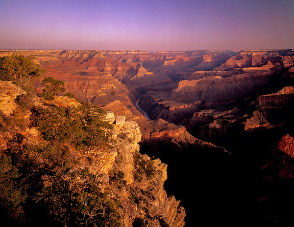 Sunrise at Pima Point, Grand Canyion National Park, Arizona .  John offers private photo tours in Arizona and and Colorado. Year-round.