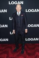 "24 February 2017 - New York, New York- Patrick Stewart. ""Logan"" New York Premiere. Photo Credit: Mario Santoro/AdMedia"
