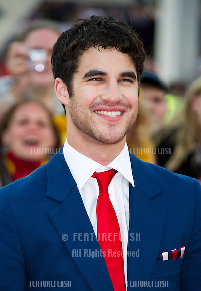 Darren Criss arriving for the World Premiere of 'Harry Potter & the Deathly Hallows pt2', Trafalgar Square, London. 07/07/2011  Picture by: James McCauley / Featureflash