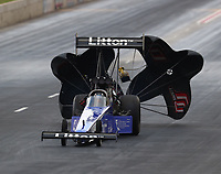 Jul 21, 2018; Morrison, CO, USA; NHRA top fuel driver Bill Litton during qualifying for the Mile High Nationals at Bandimere Speedway. Mandatory Credit: Mark J. Rebilas-USA TODAY Sports