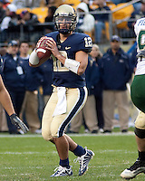 Pittsburgh quarterback Tino Sunseri. The Pittsburgh Panthers defeated the South Florida Bulls 41-14 at Heinz Field, Pittsburgh, PA on October 24, 2009.