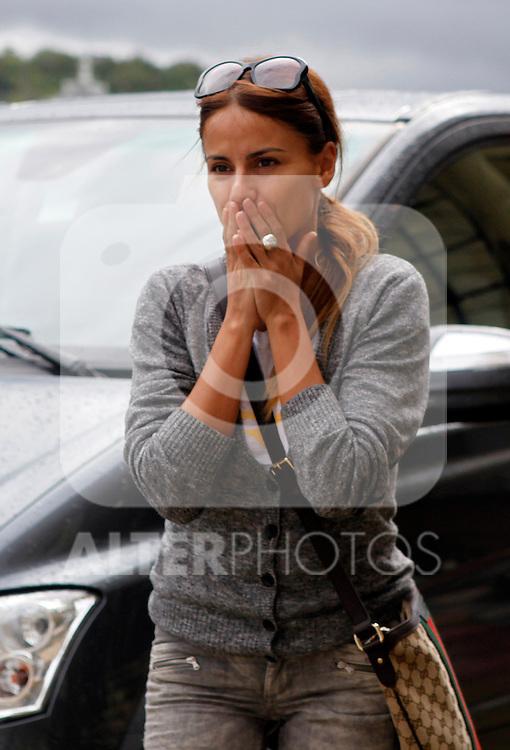Monica Hoyos arrives to Maria Cristina Hotel to attend the 61 San Sebastian Film Festival, in San Sebastian, Spain. September 20, 2013. (ALTERPHOTOS/Victor Blanco)