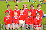FUTURE STARS: The Waterville team that took part in the annual Johnny Boyle memorial Shield Juvenile Tootball Blitz in Caherciveen on Sunday last..Front L/r Paraic Fitzpatrick, Cillian Cronin, Patrick O'Dwyer, James Fitzgerald, Jemma Donnelly..Back L/r. Che Flaherty, Cillian Clifford, Sinead Clifford, James O'Sullivan and Shauna O'Shea.   Copyright Kerry's Eye 2008
