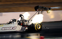 Jul. 24, 2009; Sonoma, CA, USA; NHRA top fuel dragster driver Terry Haddock during qualifying for the Fram Autolite Nationals at Infineon Raceway. Mandatory Credit: Mark J. Rebilas-