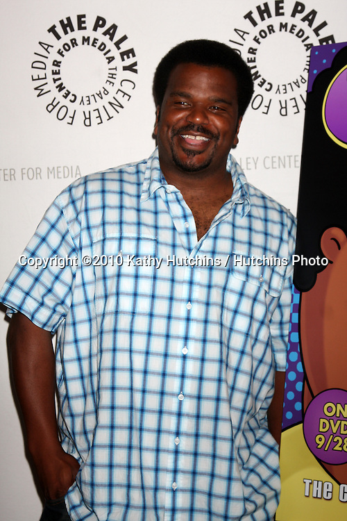 """LOS ANGELES - SEP 23:  Craig Robinson arrives at """"The Cleveland Show"""" DVD Release Party & Panel DIscussion  at Paley Center for Media on September 23, 2010 in Beverly Hills, CA"""