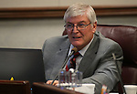 Nevada Assemblyman Skip Daly, D-Sparks, works in committee at the Legislative Building in Carson City, Nev. on Tuesday, Feb. 5, 2013. .Photo by Cathleen Allison