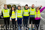 Volunteer stewards  at the Kerry's Eye Tralee, Tralee International Marathon and Half Marathon on Saturday from left: Eoin Lynch, Tamila Khussainova, Liam O'Leary, Craig Murphy, Stephen Byrne and Marie O'Shea.