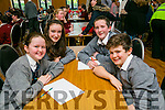 Social Bhreac Chluainn, Annascaul, Ciara Knightly, Ciara Ferriter, Dara Newsome and James Hanifin  at the Credit Union Chapter 23 Primary school's Quiz in the Ballyroe Heights Hotel on Sunday