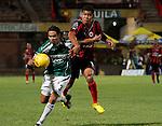 Cucuta deportivo  vencio 2 x 1 al Deportivo cali en la liga postobon torneo finalizacion del futbol colombiano