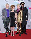 Neon Trees at The 2011 MTV Video Music Awards held at Staples Center in Los Angeles, California on September 06,2012                                                                   Copyright 2012  DVS / Hollywood Press Agency