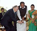 Aga Khan Garden Inauguration, India