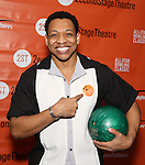 Derrick Baskin attends the 30th Annual Second Stage All-Star Bowling Classic at Lucky Strike on January 30, 2017 in New York City.