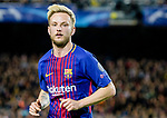 Ivan Rakitic of FC Barcelona reacts during the UEFA Champions League 2017-18 quarter-finals (1st leg) match between FC Barcelona and AS Roma at Camp Nou on 05 April 2018 in Barcelona, Spain. Photo by Vicens Gimenez / Power Sport Images