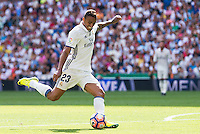 Real Madrid's player Danilo Luiz Da Silva during a match of La Liga Santander at Santiago Bernabeu Stadium in Madrid. September 10, Spain. 2016. (ALTERPHOTOS/BorjaB.Hojas) /NORTEPHOTO.COM