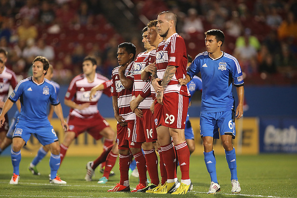 FRISCO, TX:  in action against the San Jose Earthquakes at FC Dallas Stadium in Frisco, Texas on May 25,2013 (Photo Rick Yeatts)