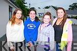 Enjoying the Castlegregory summer festival parade were l-r: Orlaith O'Sullivan, Holly, Jodie and Amy O'Donnell all from Castle.