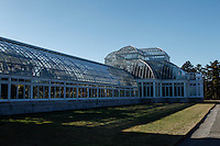 The New York Botanical Garden centerpiece is the Victorian-style glasshouse, was made by the American designer Madison Cox,  <br /> It has eleven interconnected galleries within the conservatory and each representing a different habitat. New York City on March 18, 2014, Photo by Kena Betancur / VIEWpress.