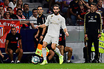 Dani Carvajal of Real Madrid during La Liga match between Atletico de Madrid and Real Madrid at Wanda Metropolitano Stadium in Madrid, Spain. September 28, 2019. (ALTERPHOTOS/A. Perez Meca)