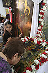Israel, St. George's Day at the Greek Orthodox Church of St. George in Acco