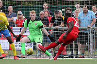 James Alabi of Leyton Orient scores the fifth goal during Harlow Town vs Leyton Orient, Friendly Match Football at The Harlow Arena on 6th July 2019