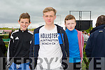 Brian Cassidy,Liam Nolan and Craig O'Brien, Tralee enjoying the The North Kerry Harriers Point to Point in Ballybeggan Racecourse on Saturday
