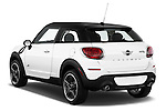 Rear three quarter view of a 2013 Mini Paceman2013 Mini Paceman