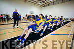 St Pats team, pictured at the 640kg Tug of War National Indoor Championship, held at John Mitchels Sports Complex, Tralee, on Sunday.