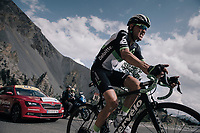 Serge Pauwels (BEL/Dimension Data) up the Col d'Izoard (HC/2360m/14.1km/7.3%)<br /> <br /> 104th Tour de France 2017<br /> Stage 18 - Briancon › Izoard (178km)