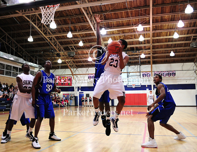 Varnado defeats St. Martin's 52-48 in the LHSAA State Playoffs in basketball.