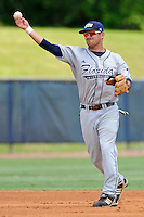 22 May 2010:  FIU's Jeremy Patton (22) throws to first as the Florida Atlantic University Owls defeated the FIU Golden Panthers, 14-10, at FAU Stadium in Boca Raton, Florida.