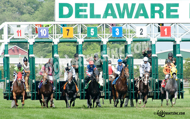 Craftsman winning at Delaware Park on 7/10/14