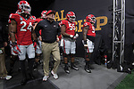 ATLANTA, GA - JANUARY 08: Head Coach Kirby Smart of the Georgia Bulldogs takes the field against the Alabama Crimson Tide during the College Football Playoff National Championship held at Mercedes-Benz Stadium on January 8, 2018 in Atlanta, Georgia. (Photo by Jamie Schwaberow/Getty Images)