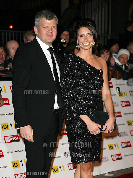 Christine Bleakley and Adrian Chiles arriving for the 2010 Pride Of Britain Awards, at the Grosvenor House Hotel, London. 08/11/2010  Picture by: Alexandra Glen / Featureflash
