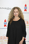 Carol Kane at the 27th Annual Broadway Flea Market & Grand Auction to benefit Broadway Cares/Equity Fights Aids in Shubert Alley, New York City, New York.  (Photo by Sue Coflin/Max Photos)