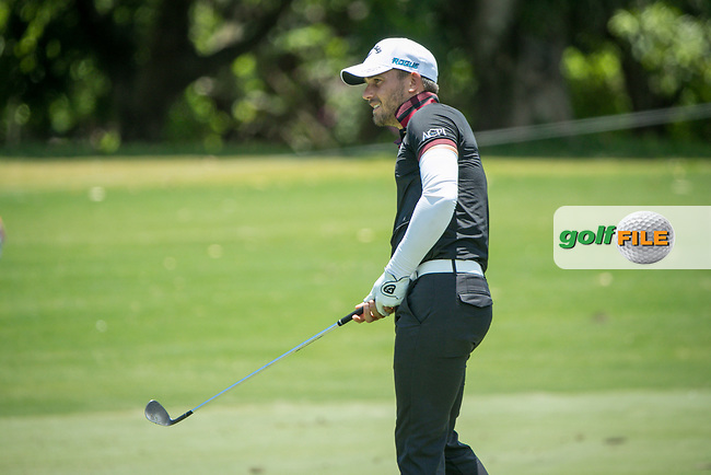 Haydn Porteous (RSA) during the 2nd round of the AfrAsia Bank Mauritius Open, Four Seasons Golf Club Mauritius at Anahita, Beau Champ, Mauritius. 30/11/2018<br /> Picture: Golffile | Mark Sampson<br /> <br /> <br /> All photo usage must carry mandatory copyright credit (&copy; Golffile | Mark Sampson)