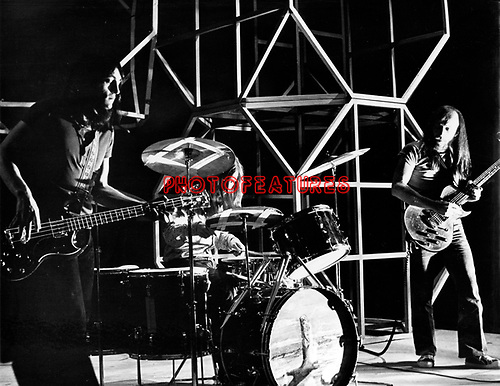 Groundhogs 1971 on Top Of The Pops Peter Cruikshank Ken Pustelnik ? and Tony McPhee<br /> &copy; Chris Walter