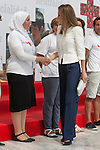Queen Letizia of Spain attends the Spanish Red Cross `Cruz Roja´ foundation 150th anniversary in Madrid, Spain. July 04, 2013. (ALTERPHOTOS/Victor Blanco)