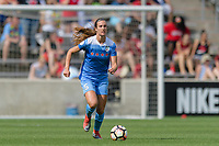 Bridgeview, IL - Saturday June 17, 2017: Katie Naughton during a regular season National Women's Soccer League (NWSL) match between the Chicago Red Stars and the Washington Spirit at Toyota Park. The match ended in a 1-1 tie.