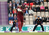 29th September 2017, Ageas Bowl, Southampton, England; One Day International Series, England versus West Indies; West Indies Chris Gayle in batting action