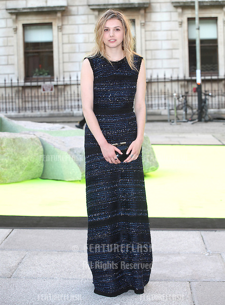 Hannah Murray arriving for the Royal Academy Of Arts Summer Exhibition Party, RAA, London. 05/06/2013 Picture by: Alexandra Glen / Featureflash