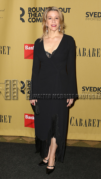 Linda Emond attending the Broadway Opening Night After Party for 'Cabaret' at Studio 54 on April 24, 2014 in New York City.