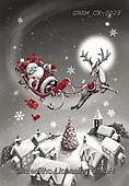 Roger, CHRISTMAS SANTA, SNOWMAN, WEIHNACHTSMÄNNER, SCHNEEMÄNNER, PAPÁ NOEL, MUÑECOS DE NIEVE, paintings+++++,GBRMCX-0028,#x#