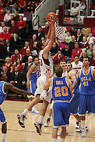 STANFORD, CA - JANUARY 9:  Jack Trotter of the Stanford Cardinal during Stanford's 70-59 win over the UCLA Bruins on January 9, 2009 at Maples Pavilion in Stanford, California.