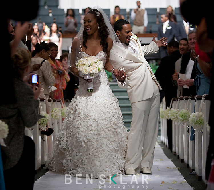 Leaving The Altar Wedding Songs: Sanya Leanne Richards And Aaron Jermaine Ross Wed