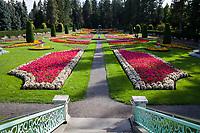 Duncan Renaissance Garden, Manito Park Spokane, WA, USA.